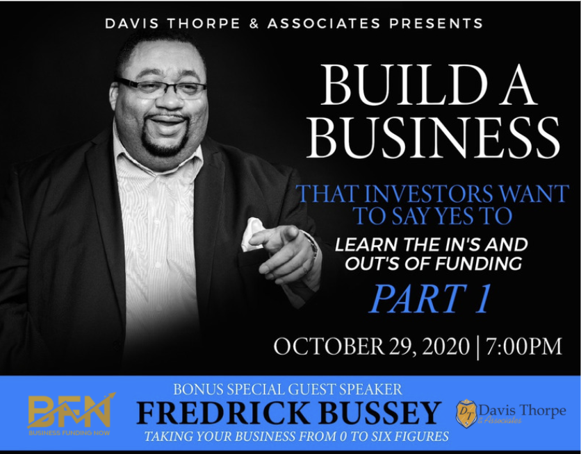 Build a Business That Investors Want to Say YES To with Special Guest   Business Funding Now